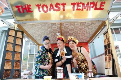 The Toast Temple in Tooting, part of the Wandsworth Arts Festival.