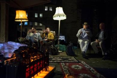 The Electric Fireside in Bradford.